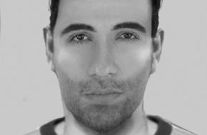 Polizei Düsseldorf: POL-D: Nach Raubgeschehen auf dem Gelände der Universitätskliniken - Wer kennt den Mann? - Polizei fahndet mit Phantombild