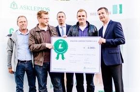 Asklepios Kliniken: 1. Asklepios Lebensretter-Preis verliehen / Hamburger Klinikgruppe belohnt mutiges Handeln von Laien / Herzdruckmassage rettet jedes Jahr 5.000 Menschenleben in Deutschland