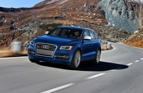 Audi AG: AUDI AG setzt weltweiten Wachstumskurs im Oktober fort (FOTO)