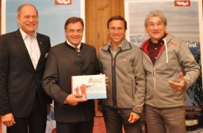 Tirol Werbung: Tirol startet optimistisch in den Bergwinter 2012/2013