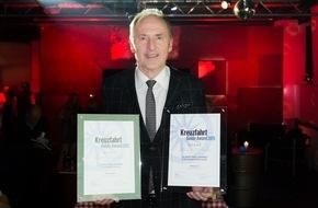 Hapag-Lloyd Kreuzfahrten GmbH: Kreuzfahrt Guide Award 2015: Zweifache Auszeichnung für Hapag-Lloyd Kreuzfahrten