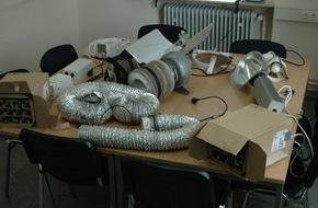 Polizeidirektion Kaiserslautern: POL-PDKL: Drogenanlage sichergestellt