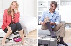 medi GmbH & Co. KG: Leichte Beine - so macht Reisen Spaß / Reisethrombose vorbeugen mit medi travel