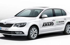 Skoda Auto Deutschland GmbH: SKODA fährt die Stars zum Radio Regenbogen Award 2014 (FOTO)