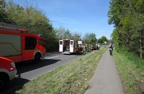 Feuerwehr Mülheim an der Ruhr: FW-MH: Motorradunfall fordert 2 Schwerverletzte!