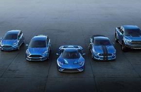 Ford-Werke GmbH: Neuer Ford Focus RS und neuer Ford GT auf dem Genfer Automobil-Salon 2015