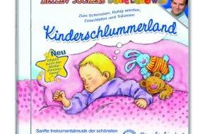 Menschenkinder Verlag: Endlich durchschlafen / Detlev Jöckers neue Schmuse- und Einschlafmusik für Kinder