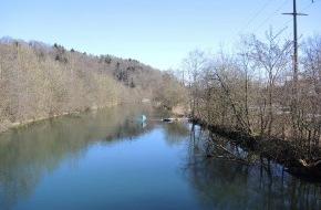 BKW Energie AG: Aarekanal bei Wangen an der Aare / Aare-Flusslandschaft dank Ökofonds renaturiert