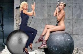 """Bauer Media Group, BRAVO: Atemlos auf dem """"Wrecking Ball?"""" - Helene Fischer exklusiv in BRAVO: Ein Duett mit Miley Cyrus wäre richtig cool!"""""""