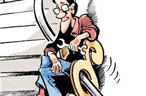 """Bundesgeschäftsstelle Landesbausparkassen (LBS): Ärztlich """"verordneter"""" Lift? / Bundesfinanzhof zeigte sich im Falle eines Behinderten großzügig (FOTO)"""