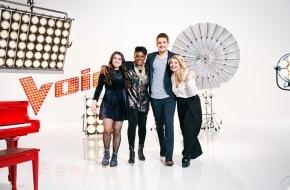 The Voice of Germany: Danke! Die #TVOG-Finalisten Charley Ann, Lina, Marion und Andrei geben persönliche Autogramme via @idolcard auf Twitter