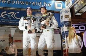 Skoda Auto Deutschland GmbH: SKODA Pilot Wiegand will nach Podium-Hattrick auch bei der ERC-Rallye in Estland nach vorn