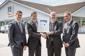 Unternehmensgruppe ALDI SÜD: ALDI SÜD verpflichtet sich zum Energiesparen
