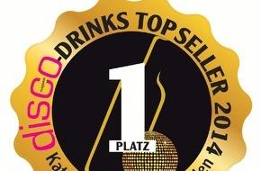 Schweppes: disco-magazin kürt Schweppes zum Top-Drink 2014 in der Kategorie Bitterlimonaden