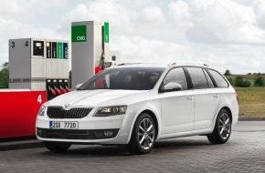Skoda Auto Deutschland GmbH: CNG-Offensive: Der neue SKODA Octavia G-TEC