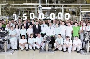 Skoda Auto Deutschland GmbH: Rekord: SKODA produziert 1,5 Millionen Motoren und Getriebe im Jahr 2014
