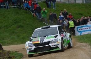 Skoda Auto Deutschland GmbH: Doppelsieg für SKODA: deutsche Piloten Kreim/Christian Zweite bei stark besetzter Rallye in Österreich