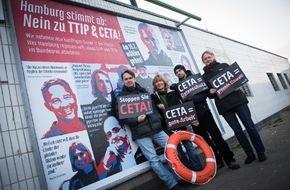 Campact e.V.: Hamburg: Bürger mobilisieren gegen TTIP und CETA