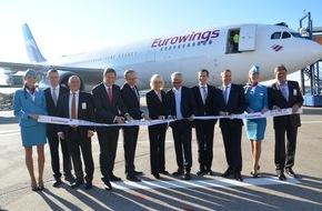 Flughafen Köln/Bonn GmbH: Start in eine neue Ära / Low-Cost-Langstrecke mit Eurowings ab Köln/Bonn