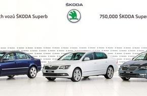 Skoda Auto Deutschland GmbH: SKODA produziert 750.000sten SKODA Superb