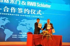 AFG Management AG: RWD Schlatter unterzeichnet Grossauftrag in China