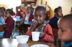 """Stiftung Menschen für Menschen Schweiz: Ein """"Zmorge"""" gegen Hunger: Menschen für Menschen Schweiz hilft Kindern in Not"""