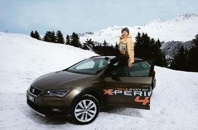 SEAT / AMAG Automobil- und Motoren AG: Gian Simmen ist SEAT Leon ST X-PERIENCE Ambassador