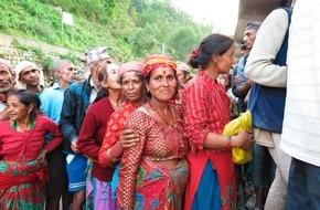 Helvetas: Nepal: Helvetas-Hilfe erreicht die Ärmsten / Morgen: Nationaler Glückskette-Sammeltag für Nepal