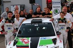 Skoda Auto Deutschland GmbH: SKODA Duo Kreim/Christian will Halbzeit-Meisterschaft in der DRM