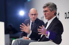"""Hubert Burda Media: Siemens-CEO Joe Kaeser bei DLDsummer: """"Geschwindigkeit nicht wichtigster Faktor bei Digitalisierung"""""""