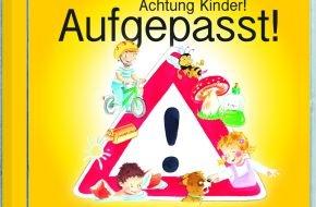 Menschenkinder Verlag: Achtung Kinder! Aufgepasst! / Neue Spaß- und Lernlieder von Detlev für die Sicherheit im Alltag