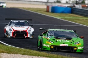 ADAC: Grasser Racing: Attacke beim Heimrennen auf dem Red Bull Ring mit drei Lamborghini