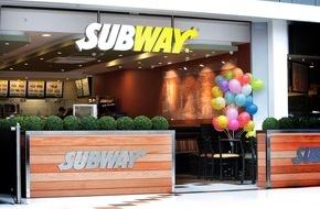 Subway Vermietungs- und Servicegesellschaft mbH: Subway® Sandwiches ouvre son 5000e restaurant en Europe / pour y devenir en 24 ans le deuxième plus gros franchiseur avec 50 000 employés