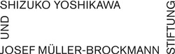 Shizuko Yoshikawa und Josef Müller-Brockmann Stiftung