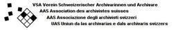 VSA Verein Schweiz. ArchivarInnen