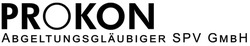 PROKON Abgeltungsgläubiger SPV GmbH