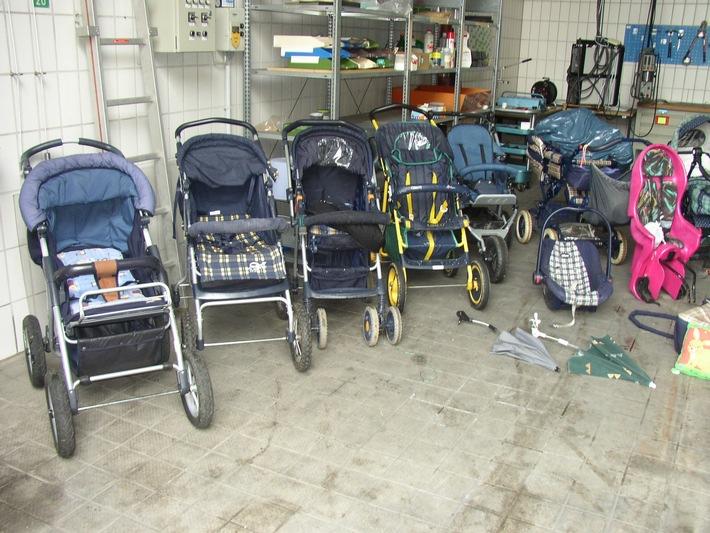 POL-SHDD: Sind Mutter und Tochter Kinderwagendiebe?