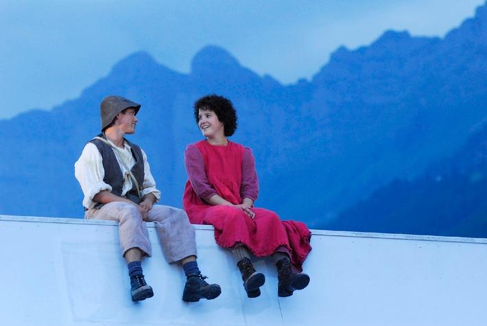 Ein Sommerausflug zum Heidimusical