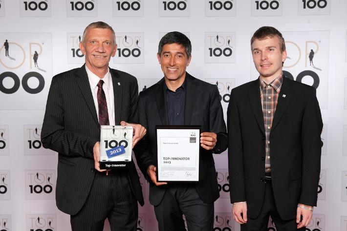 """Saarbrücker Software-Haus als Fortschritt-Macher ausgezeichnet / """"Top 100"""": Plan Software GmbH schafft Sprung in die Riege der innovativsten Mittelständler / Ranga Yogeshwar gratuliert"""