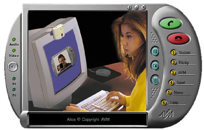 So wird der PC zum ISDN-Bildtelefon / Beim Telefonieren einen Blick riskieren