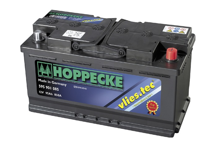 Die Johnson Controls Batterien GmbH & Co. KG präsentiert die vlies.tec-Autobatterie auf der Automechanika 2002 / Eine neue Technologie geht in Serie