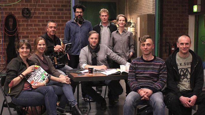 """Dreharbeiten zum SWR Fernsehfilm """"Casting"""" (AT) Der improvisierte Film von Nicolas Wackerbarth spielt hinter den Kulissen einer Filmproduktion"""