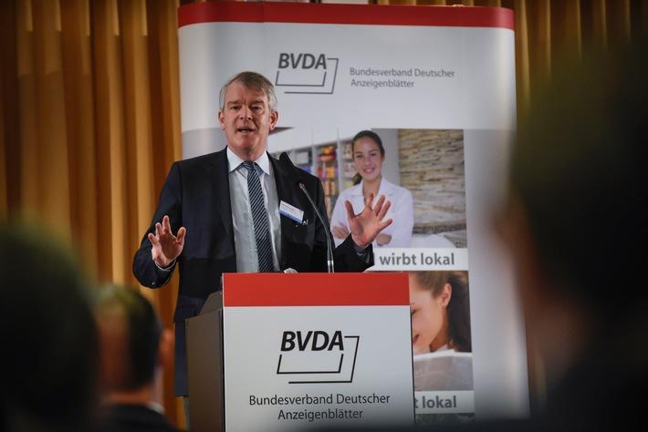 Verlage diskutieren über Positionierung im digitalen Wandel / Herbsttagung des Bundesverbandes Deutscher Anzeigenblätter: BVDA stellt neues Zustellsiegel vor