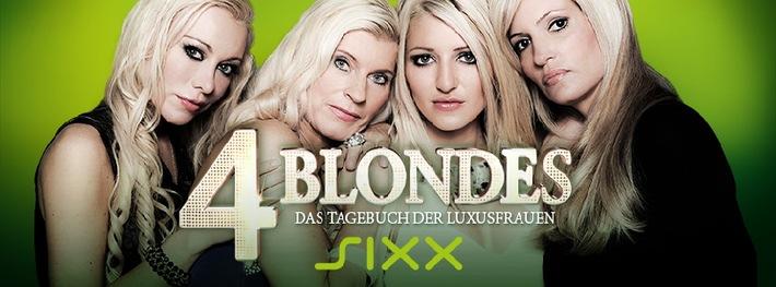 """Shoppen, Schampus und Schönheits-OPs: """"4 BLONDES - Das Tagebuch der Luxusfrauen"""", ab Dienstag, 13. November 2012, um 21.55 Uhr auf sixx"""