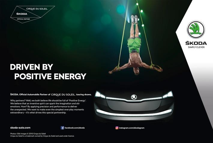 SKODA und Cirque du Soleil® gehen langfristige Partnerschaft ein
