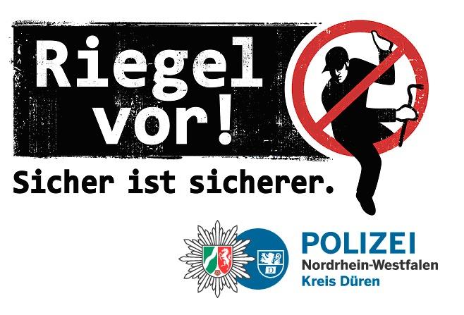 POL-DN: Riegel vor! - Polizei informiert zum Schutz vor Einbrechern