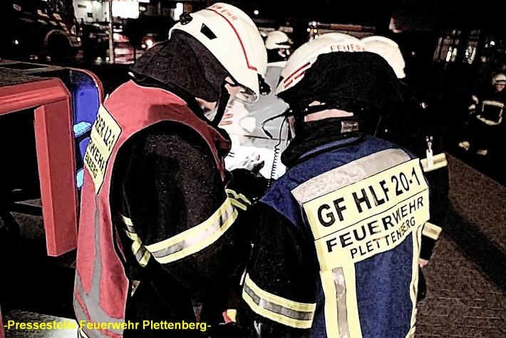 FW-PL: OT- Kückelheim. Aggregat in Schmiedeindustriebetrieb geriet in Brand.