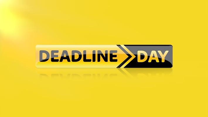 Deadline Day - das Original: alles zum letzten Tag der Transferperiode am Mittwoch auf Sky Sport News HD