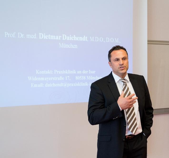 """Erstmalig in Deutschland wird eine Professur für """"Osteopathische Medizin"""" eingerichtet"""