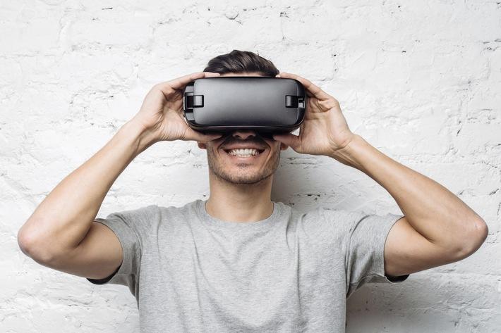 Depuis l'entrepôt jusqu'au client en réalité virtuelle
